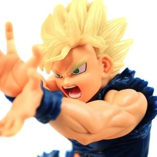 Goku Ssj Kamehameha Figura 17cm Dragon Ball Z Base Rota