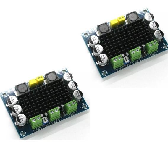 Amplificador100wrms Tpa3116.(2unidades) Montado+frete Grátis