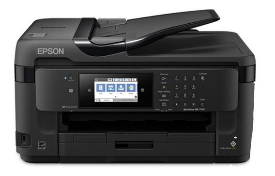 Impresora Epson Multifuncional Work Force Wf 7710 Tabloide