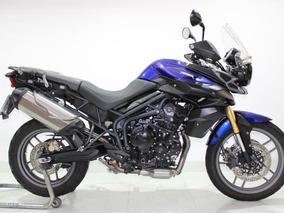 Triumph - Tiger 800 Abs - 2015 Azul