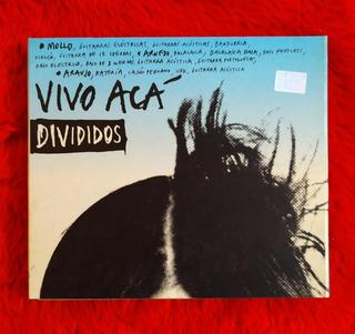 Divididos Vivo Aca 2 Cd + Poster + Fotos Primer Edicion