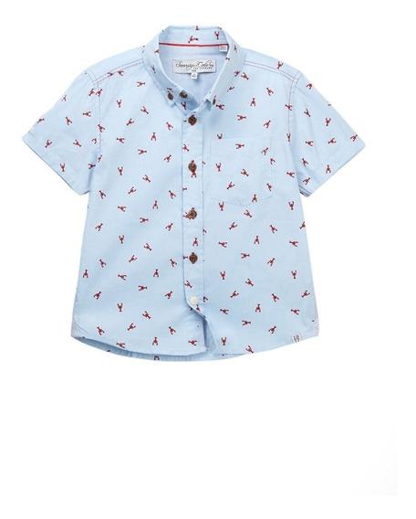 Camisa Camiseta Niño Fashion Sovereign Code, Azul Langostas
