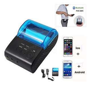 Promocion Impresora Termica Bluetooth Portatil Inalambrica