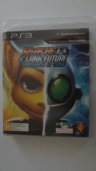 Ratchet Clank Future A Crack In Time Ps3 Novo E Lacrado