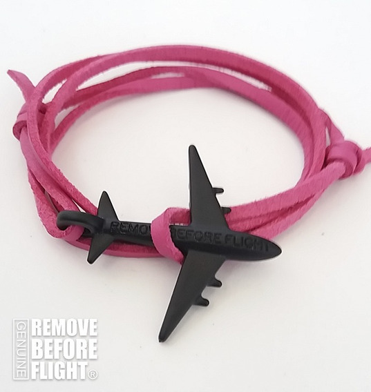 Brazalete Fly Fiucsa&negro - Remove Before Flight®