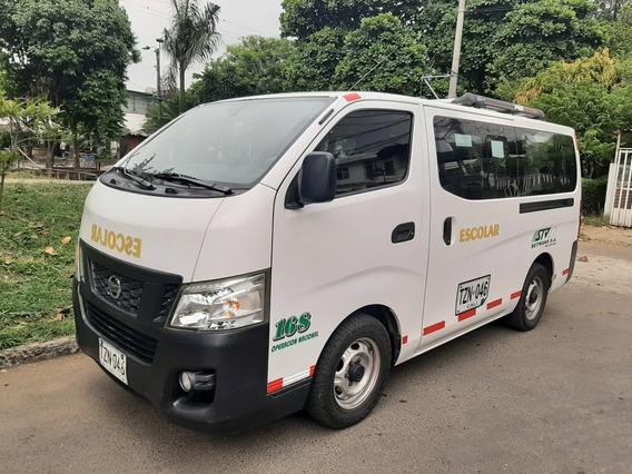Nissan Urvan Modelo 2014 Publica 16 Psj.