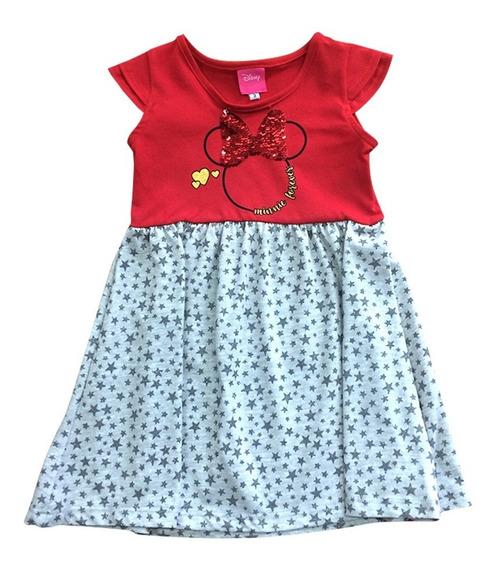 Vestido Fiesta Minnie Mouse Disney Official Para Beba