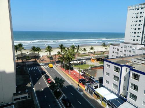 Imagem 1 de 14 de Apartamento 3 Dormitórios - 50 Mts Praia- Alto Padrão Amj110