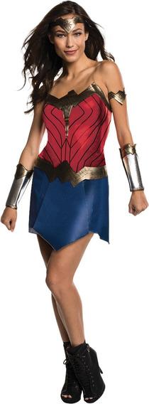 Disfraz Mujer Maravilla Original Dc Talla Chica Remate!!!