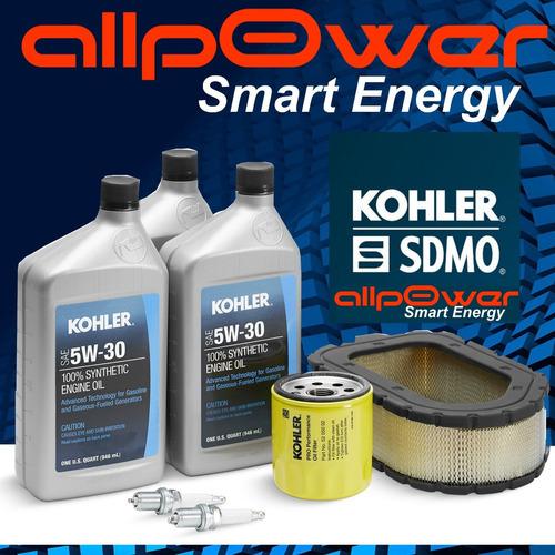 Kit Mantenimiento Grupo Electrogeno Kohler Gas 15kva