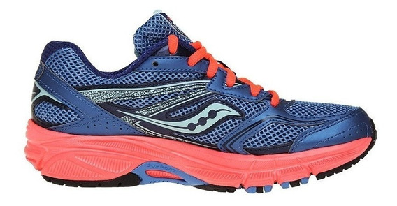 Tenis Saucony Mujer Azul Cohesion 9 S1526211
