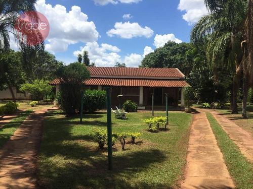 Imagem 1 de 13 de Chácara Com 3 Dormitórios À Venda, 5922 M² Por R$ 750.000,00 - Recreio Internacional - Ribeirão Preto/sp - Ch0093