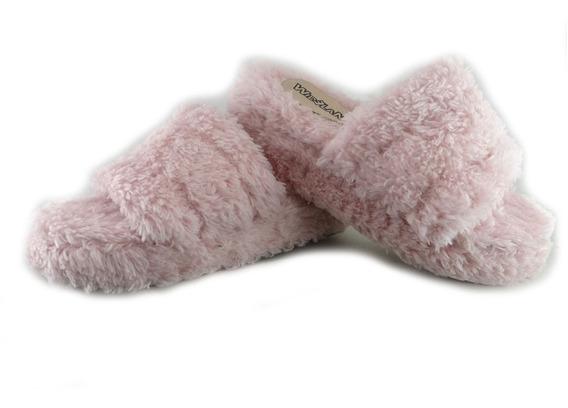 Pantuflas Peluche Pelo Fashion Moda Colores Niñas Y Dama