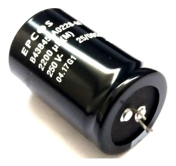 Capacitor Eletrolítico 2200uf X 250v 85° Epcos