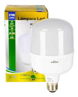 Lampara Led 30w Galpon Deposito Frio 6500k 250w E27 Hqi 200