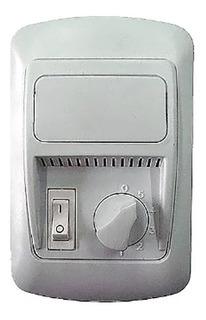 Llave Regulador Velocidad Ventilador Techo / Interruptor Luz