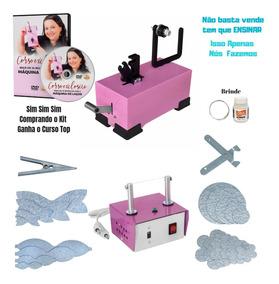 Maquina De Fazer Laço + Maquina De Cortar Fita Com Acessorio