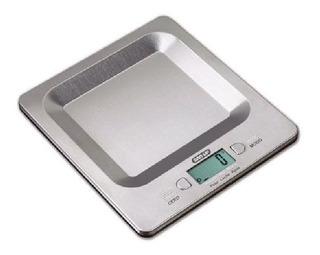Balanza Cocina Digital Acero Inoxidable Tara Liquidos 3 Kg