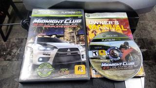 Midnight Club Los Angeles Completo Para Xbox 360,excelente