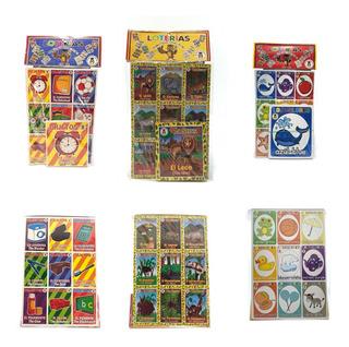 Juguete Economico 50 Set Loteria Didacticas Elige Buho