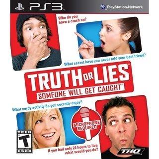 Truth Or Lies Ps3   Mídia Física Original