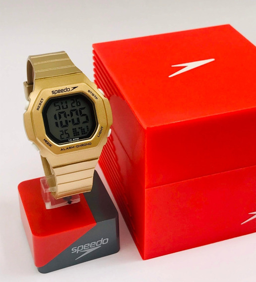 Relógio Feminino Speedo Np3 Digital Fashion Retro Top Promo