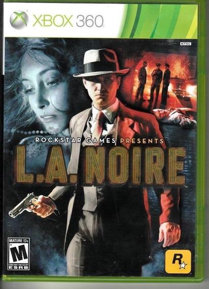 L.a Noire Xbox360