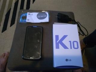 LG K10 - Usado, Em Bom Estado + Caixa + Manual + Acessorios