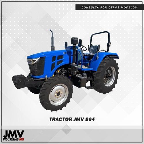 Tractor Jmv804 80hp 4x4 Acoples Hidraulicos Levante 3 Ptos