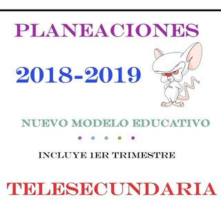 Planeaciones Telesecundaria Actualizadas 2x1