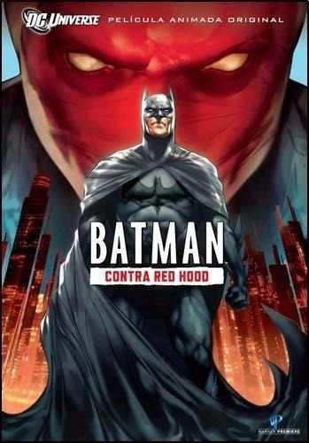 Dvd Batman Contra Red Hood Nuevo Cerrado Original