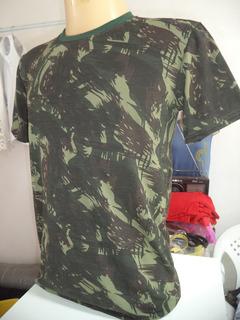 Camisa Masculina + Boné Camuflado Por R$ 24,99