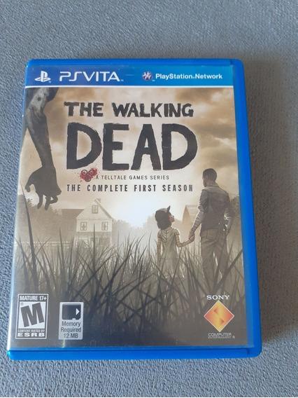 ( Frete R$ 9.90 ) The Walking Dead Complete Psvita Ps Vita