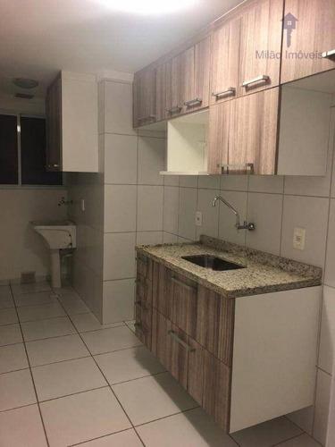 Apartamento Com 2 Dormitórios À Venda, 52 M² Por R$ 240.000 - Varanda Ville - Jardim Wanel Ville V - Sorocaba/sp - Ap1539