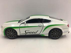 Miniatura Bentley Continental Speed Branco