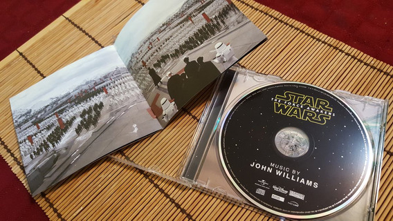 Star Wars Episodio Vii - The Force Awakens - Bso Ost Cd
