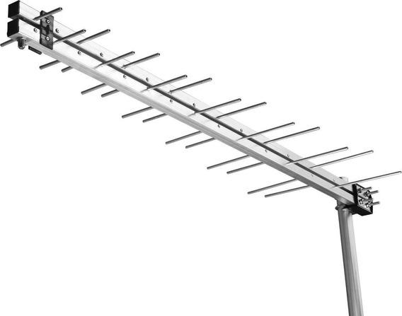 Antena Externa Digital Log Periódica Hdtv Lu-14 Aquário