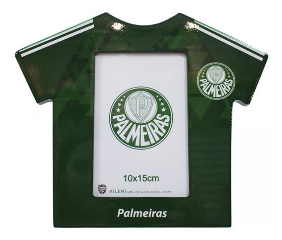 Porta Retrato Camisa Futebol Foto 10x15cm Palmeiras