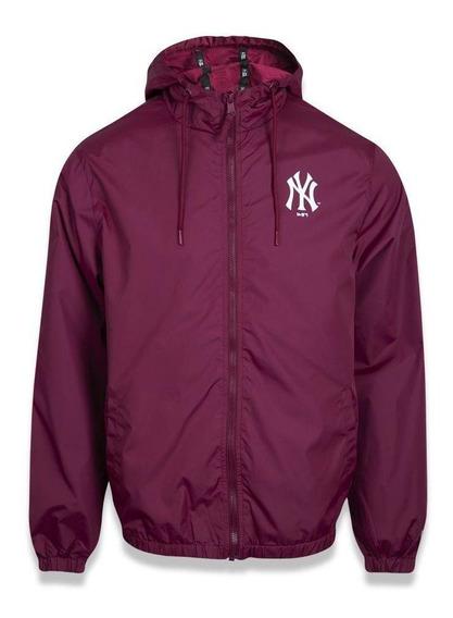 Jaqueta Quebra Vento New York Yankees Quad Vermelho New Era