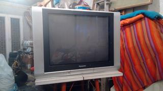 Televisor Panasonic 29 Pantalla Plana De Tubo