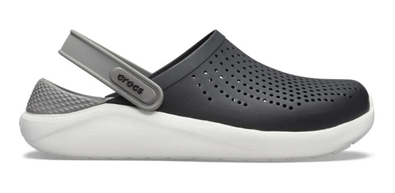 Crocs Literide Clog Black-smoke C204592-c05m Hombre C204592-