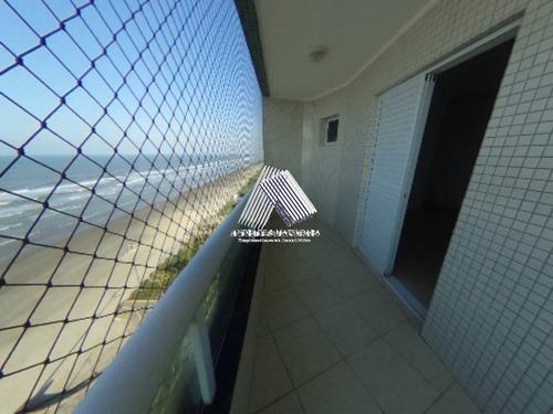 Imagem 1 de 20 de Apartamento 3 Dormitórios- Frente Mar- Caiçara- Am498