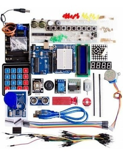 Kit Iniciación Practicas Arduino Uno, Rfid, Lcd, Motores, ..