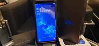 Samsung Galaxy S9 Plus, Original,+ Funda+ Vidrio Premium