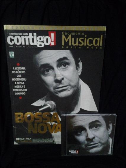 Revista Contigo! Documento Musical Bossa Nova + Cd