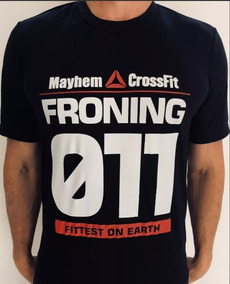 cf85d116fcc Camiseta Workout Crossfit - Linha Froning Crossfit Games