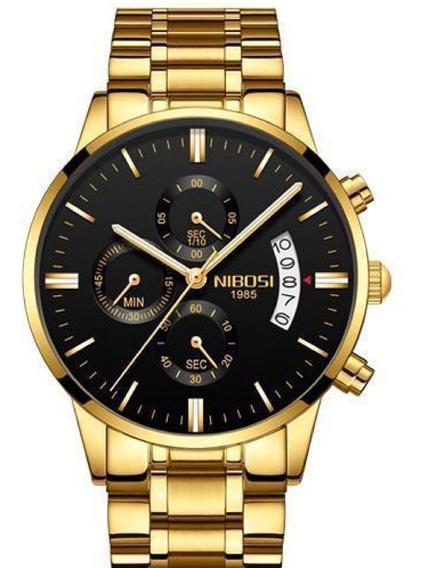 Relógio Masculino Nibosi Luxo Original