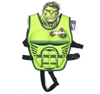 Chaleco Salvavidas De Hulk Para Niños De 1 A 7 Años Avengers