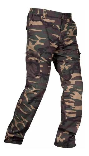Pantalon  Camuflado Resistente A La Abrasion 100 % Calidad