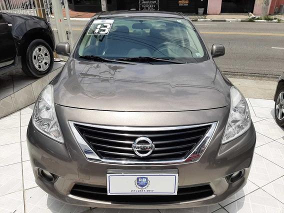 Nissan Versa Sl 1.6 Completo 2013 Cinza